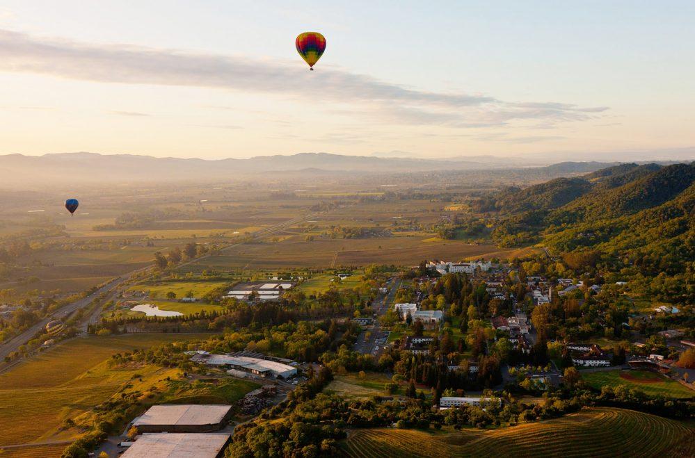 Napa Valley, CA | Hot air balloon ride | @projectinspo