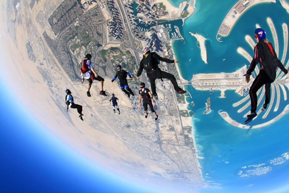 Skydiving in Dubai | @projectinspo