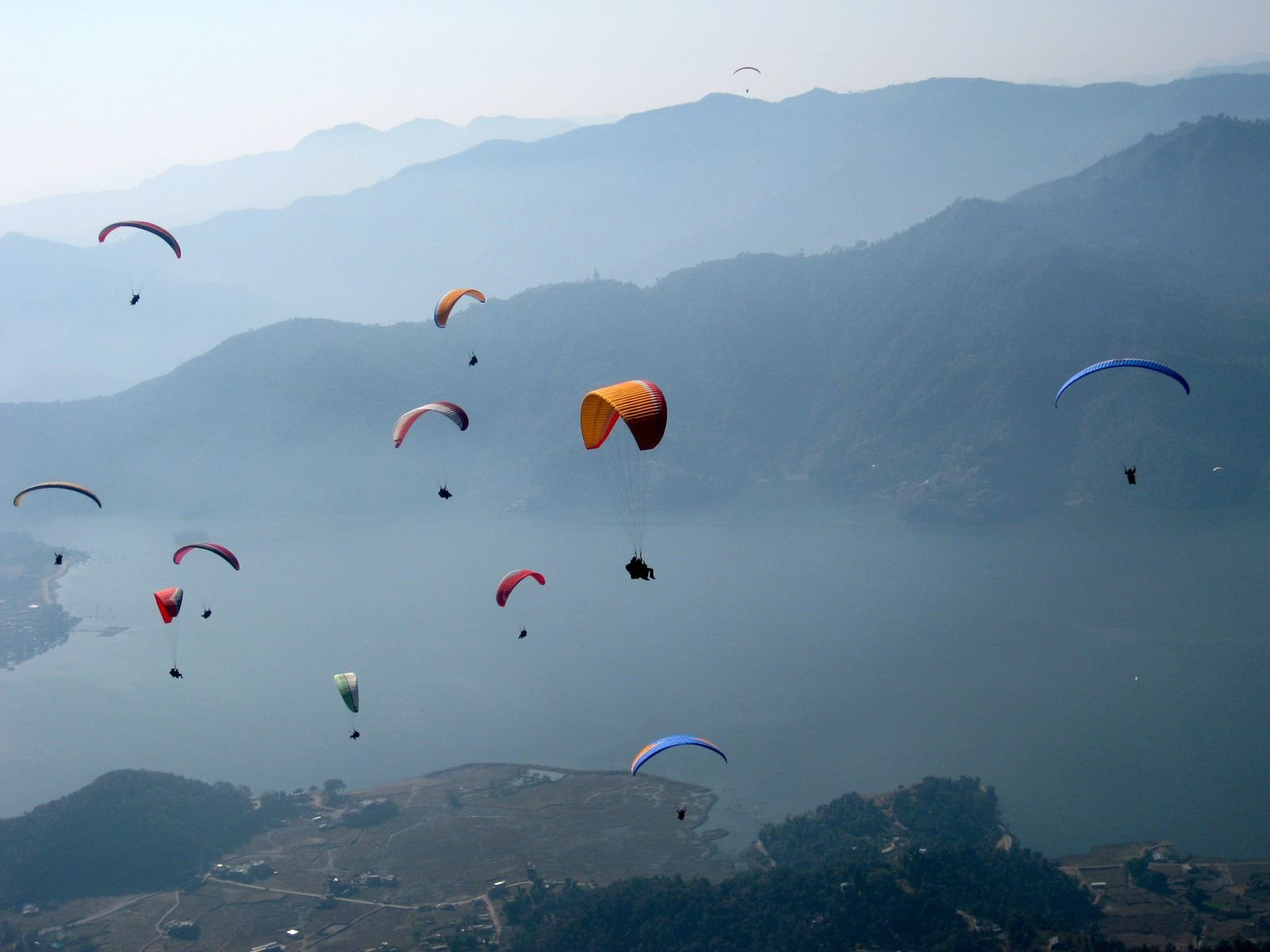 Parahawking in Nepal | travel | @projectinspo