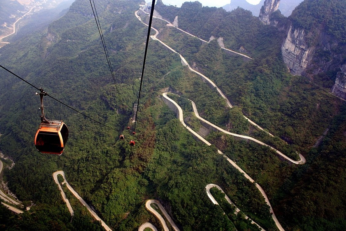 Tianmen Mountain Cable Car | Travel | @projectinspo