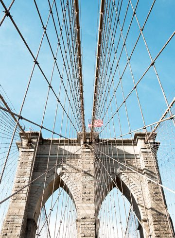 Brooklyn Bridge, New York | @PROJECTINSPO